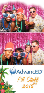 Photo Booth - Open and closed photo booths, props, strips