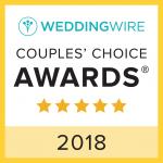 WeddingWire Couples Choice 2018 Award
